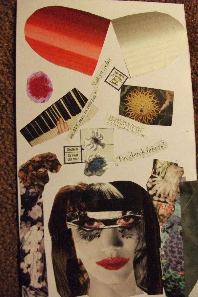 Collage de Léa.